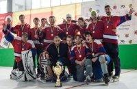 Вітаємо першого Чемпіона України з інлайн-скейтер хокею!